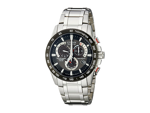 Citizen Watches AT4008-51E Perpetual Chrono A-T Watch (Two-Tone Stainless Steel/Black) Watches