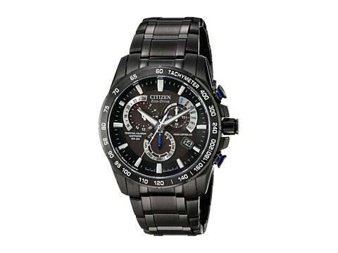 Citizen Watches - AT4007-54E Perpetual Chrono A-T Watch (Two-Tone Black/Black) Analog Watches