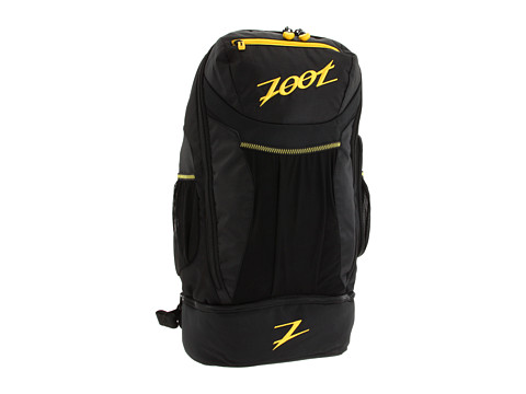 Zoot Sports - Performance Transition Bag (Black/Zoot Yellow) Bags