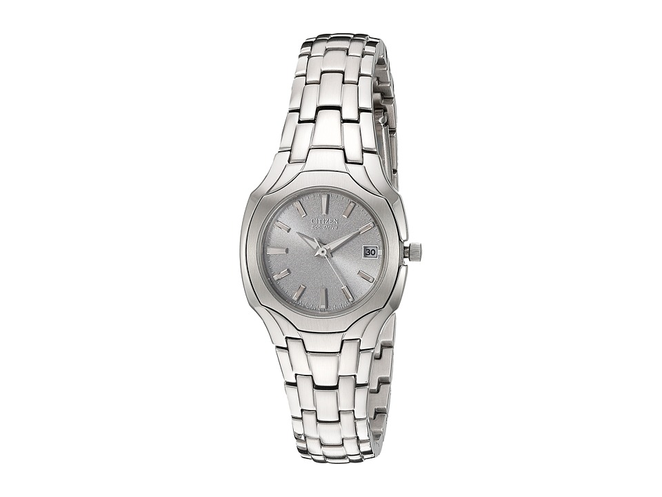 Citizen Watches - EW1250-54A Eco-Drive Stainless Steel Watch (Stainless Steel/Silver) Watches