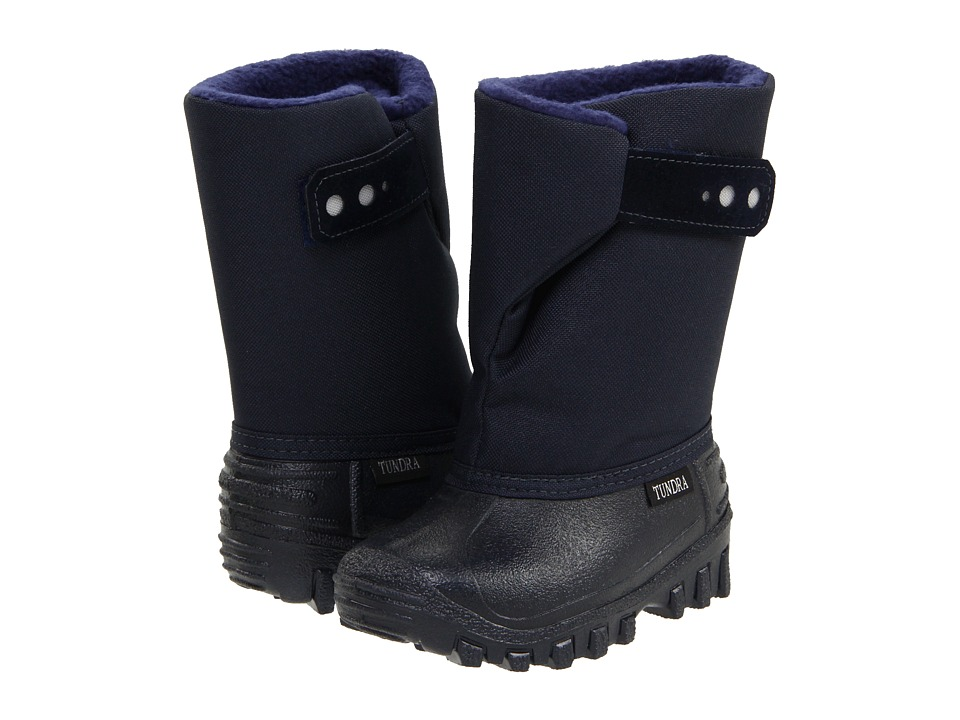 Tundra Boots Kids Teddy 4 (Toddler/Little Kid) (Navy 2011) Boys Shoes