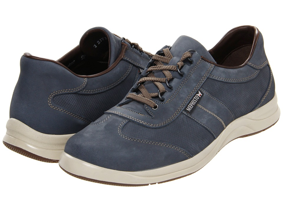 Mephisto - Hike Perfore (Navy Nubuck) Men's Lace up casual Shoes