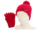 Nike Kids Cable Knit Beanie/Glove Set