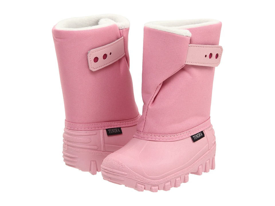 Tundra Boots Kids - Teddy 4 (Toddler/Little Kid) (Pink/Fuchsia) Girls Shoes