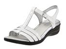 ECCO - Sensata T-Strap Sandal (White) -