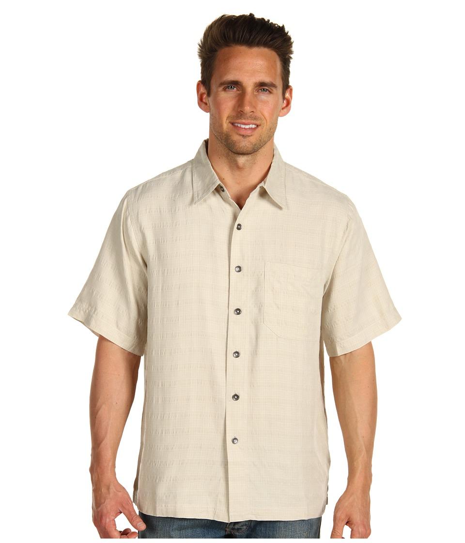 Royal Robbins - San Juan S/S (Sand) Men's Short Sleeve Button Up