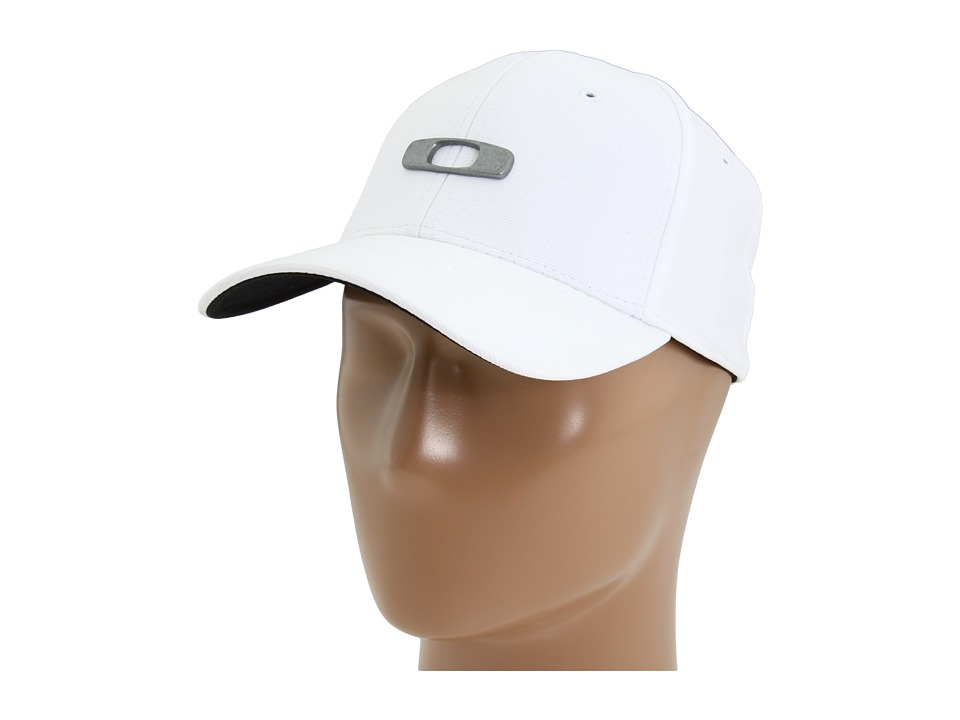 Oakley - Metal Gas Can Cap (White) Caps