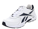 Reebok Walk Around (White/Athletic Navy) Men's Volleyball Shoes