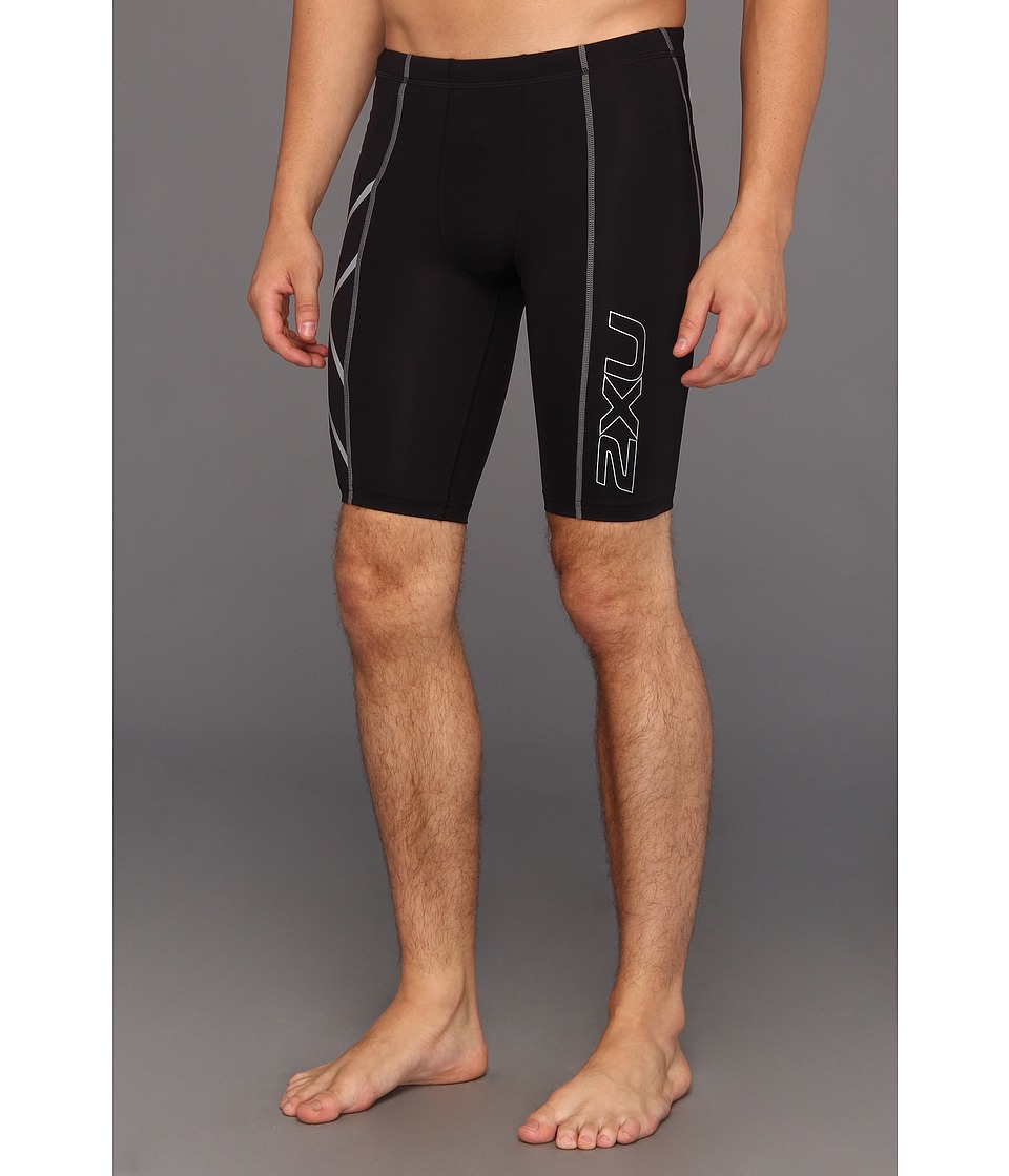 2XU - Compression Short (Black/Black) Men