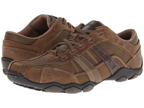SKECHERS - Diameter-Vassell (Desert Crazyhorse) Men's Lace up casual Shoes