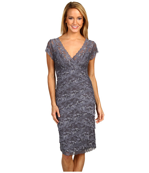 rsvp - Cassandra Lace Dress (Gunmetal) Women