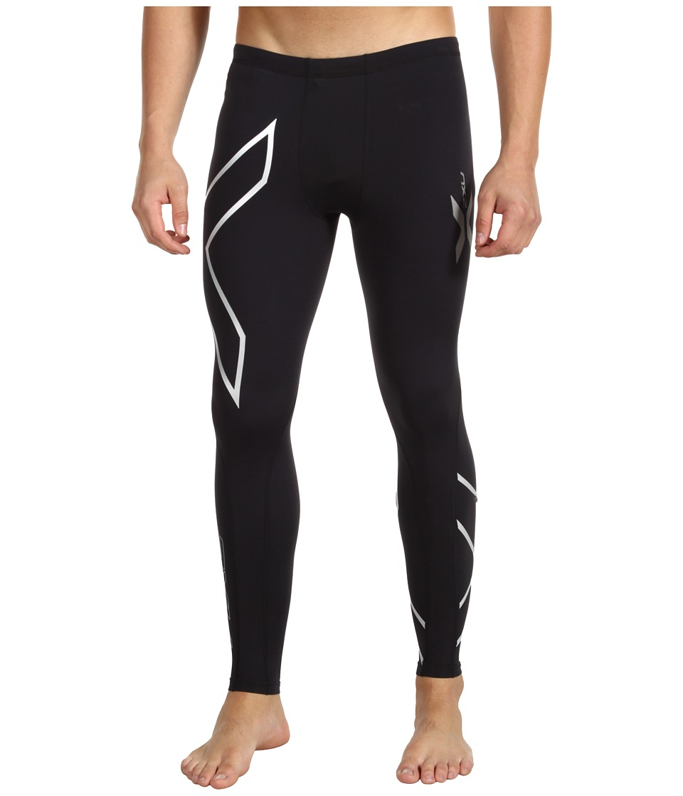 2XU - Thermal Compression Tight (Black/Black) Men's Workout