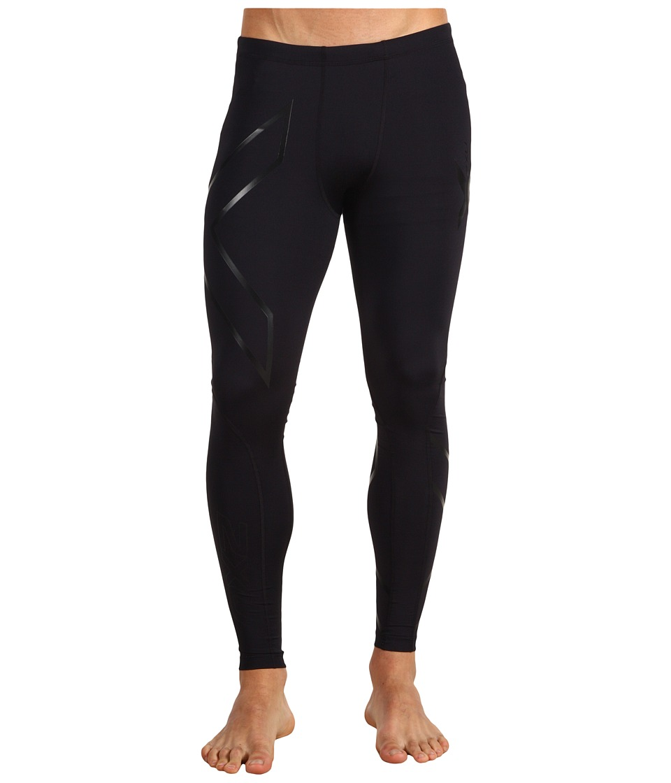 2XU - Recovery Compression Tight (Black/Black) Men's Workout