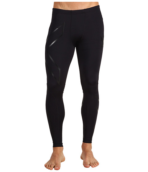 2XU - Recovery Compression Tight (Black/Black) Men