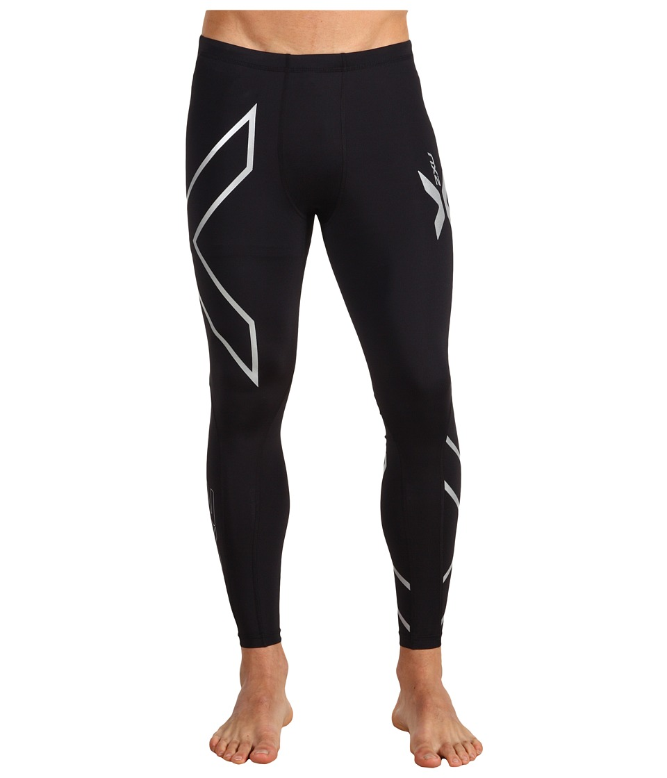 2XU - Compression Tight (Black/Black) Men's Workout