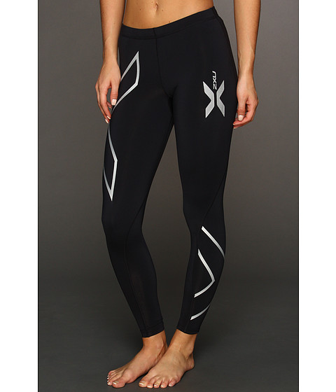 2XU - Thermal Compression Tight (Black/Black) Women's Workout
