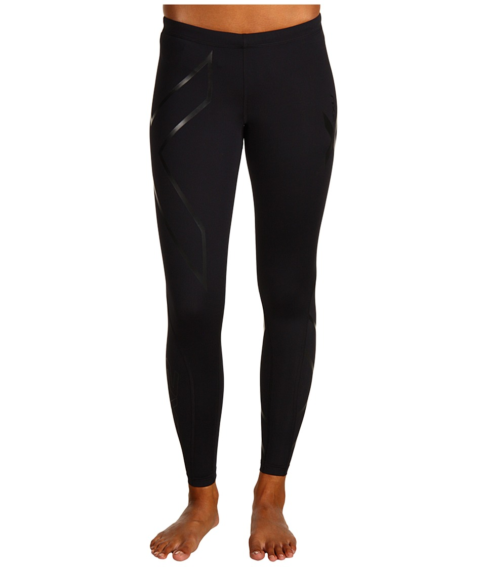 2XU - Recovery Compression Tight (Black/Black) Women's Workout