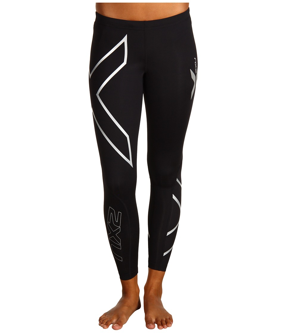 2XU - Compression Tight (Black/Black) Women's Workout