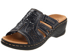 Clarks - Lexi Bark (Navy Leather) - Clarks Shoes