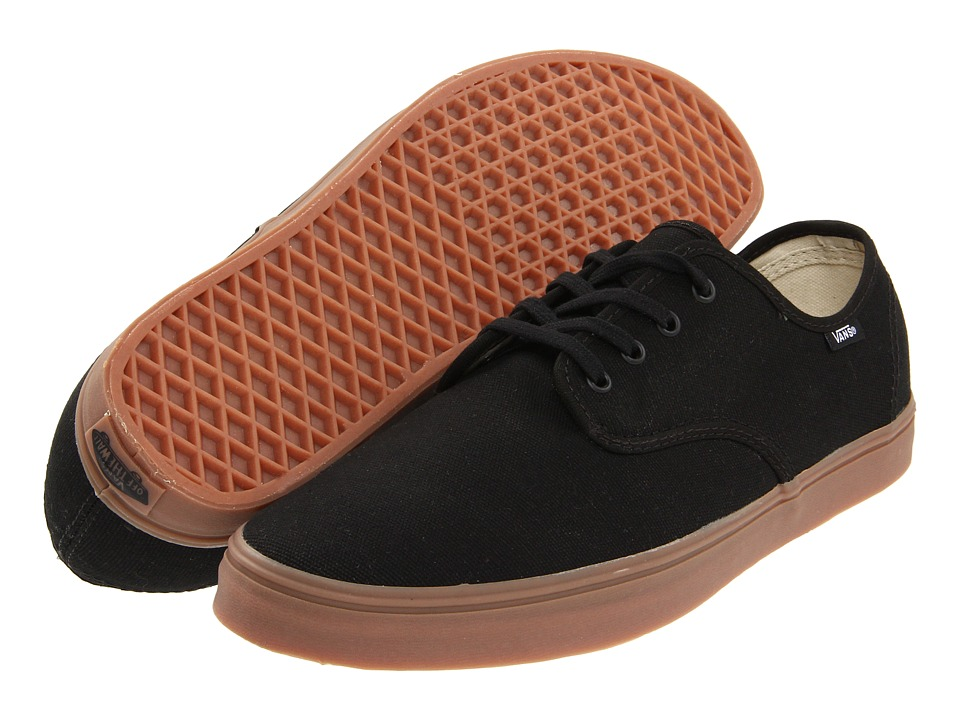 Vans - Madero (Black/Gum) Skate Shoes