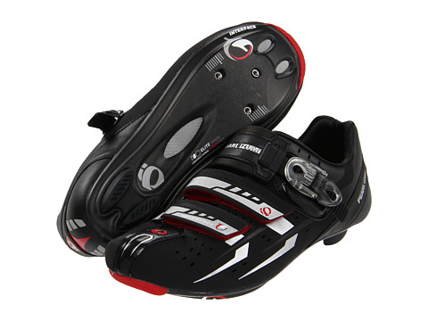 Pearl Izumi - Elite Rd III (Black/Silver) Men's Cycling Shoes