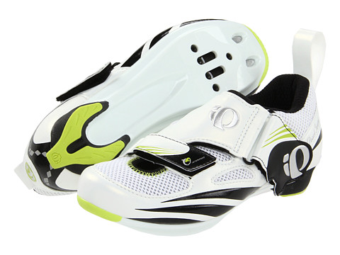 Pearl Izumi - Tri Fly IV (White/Black) Women's Cycling Shoes