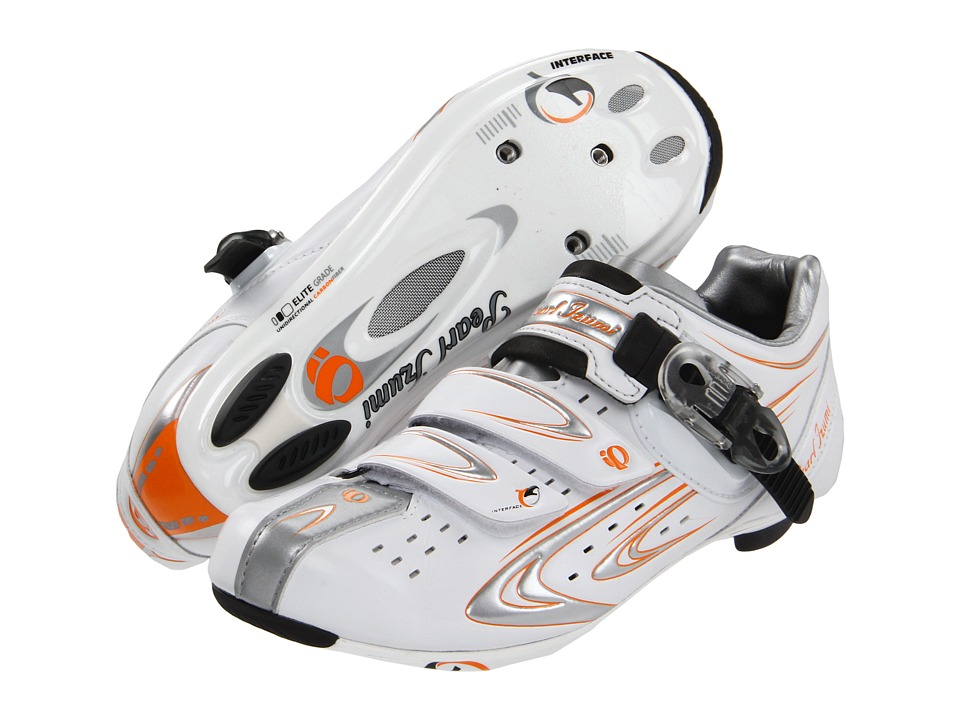 Pearl Izumi - Elite Rd III (White/Silver) Women's Cycling Shoes