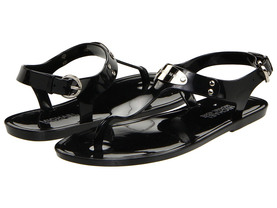 MICHAEL Michael Kors - MK Plate Jelly (Black) Women's Sandals