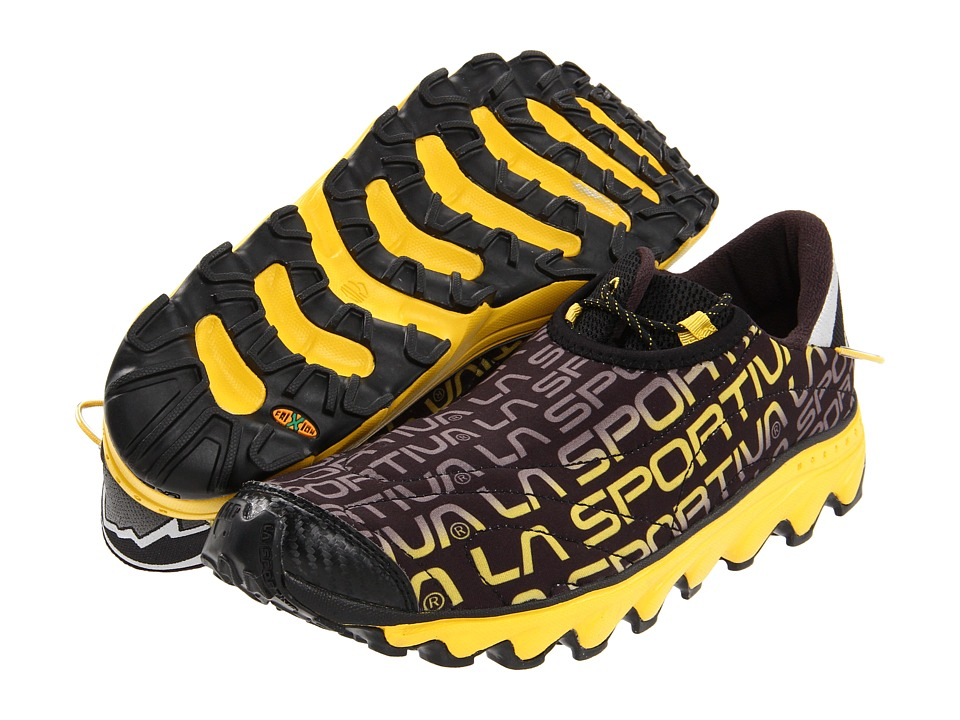 La Sportiva - Vertical K (Black/Yellow) Men's Shoes