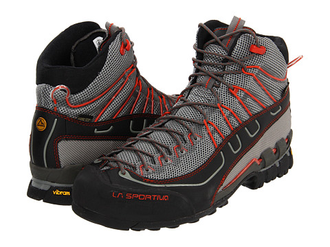 La Sportiva - Xplorer Mid GTX (Grey/Red) Men's Shoes