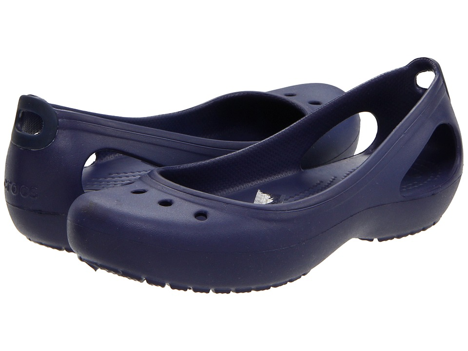 Crocs - Kadee (Nautical Navy/Nautical Navy) Women's Slip on Shoes