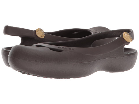 Crocs - Jayna (Espresso) Women's Shoes
