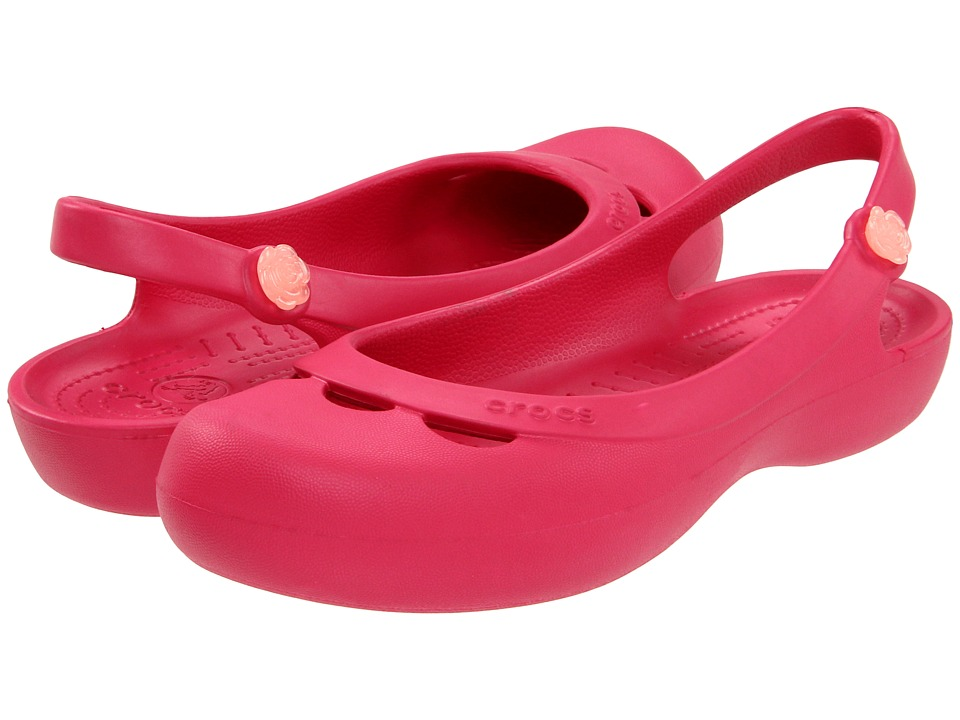 Crocs - Jayna (Raspberry) Women's Shoes