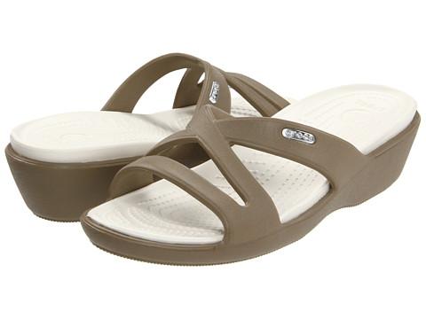 Crocs - Patricia II (Khaki/Oyster) Women's Sandals