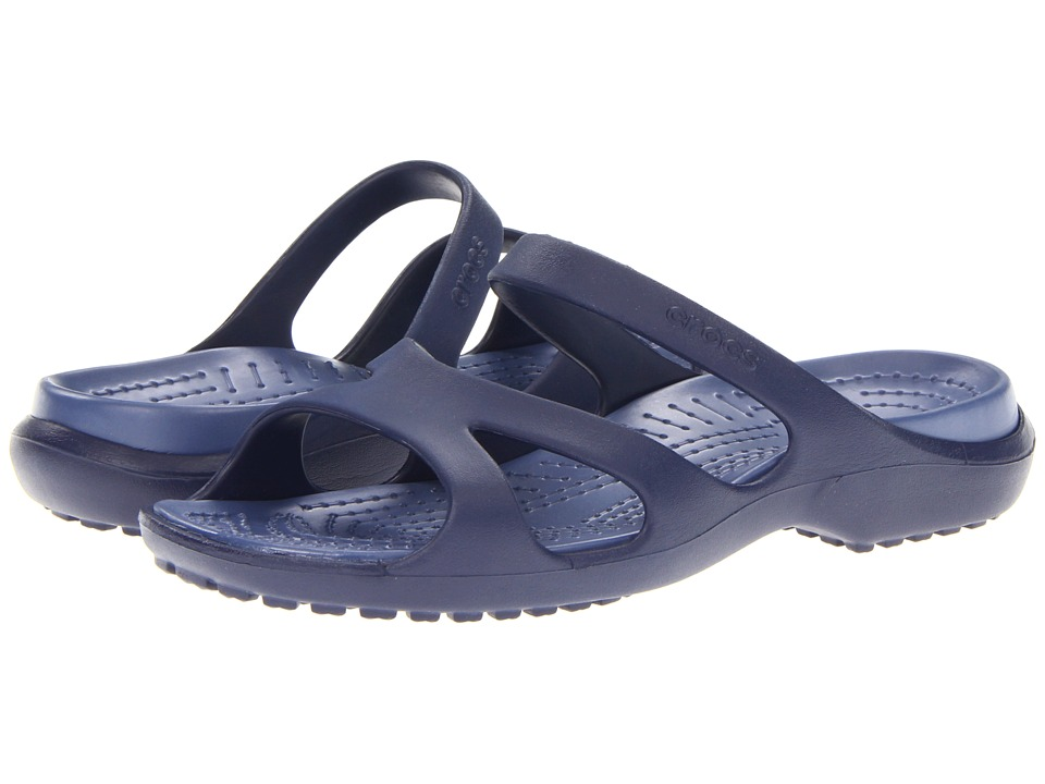 Crocs - Meleen (Nautical Navy/Bijou Blue) Women's Shoes