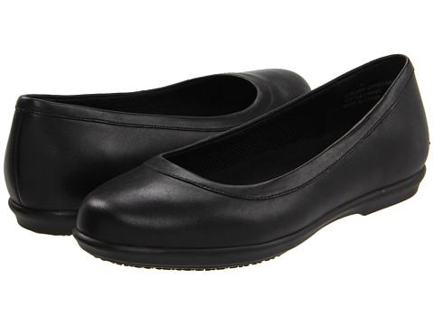 Crocs - Grace Flat (Black) Women's Shoes