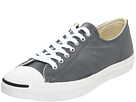 Converse - Jack Purcell LTT Leather Ox (Castlerock Grey/White) - Footwear