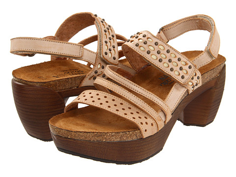 Naot Footwear - Relate (Biscuit Leather) Women's Sandals