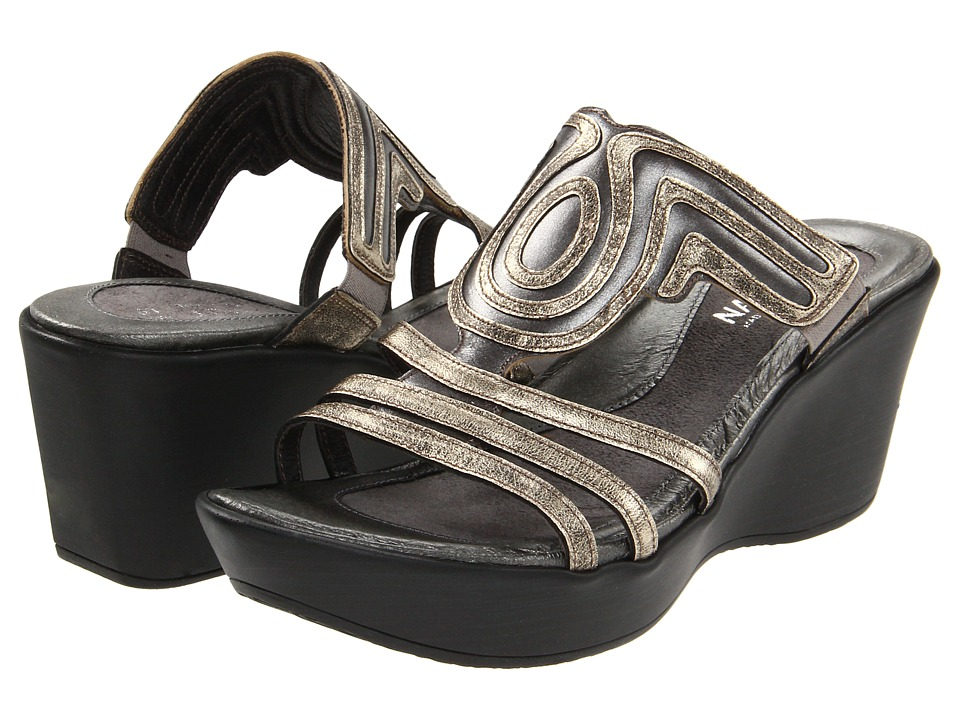 Naot Footwear - Enchant (Mirror Leather/Metal Leather) Women's Sandals