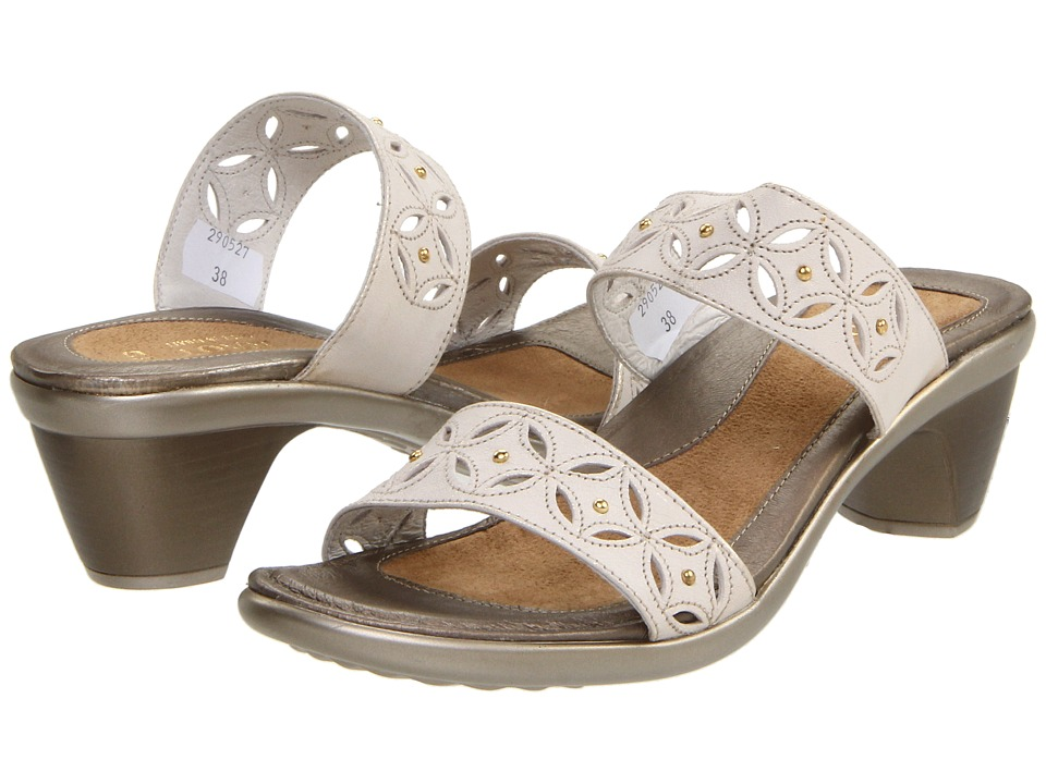 Naot Footwear - Palace (Dusty Silver Leather) Women's Sandals