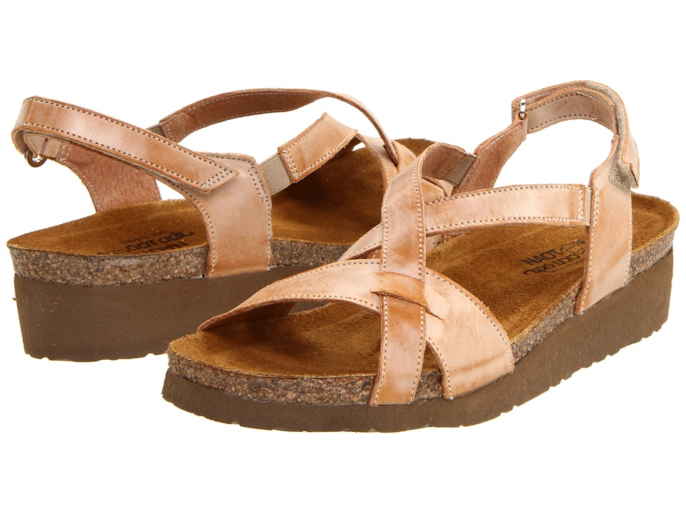 Naot Footwear - Bernice (Biscuit Leather) Women's Sandals