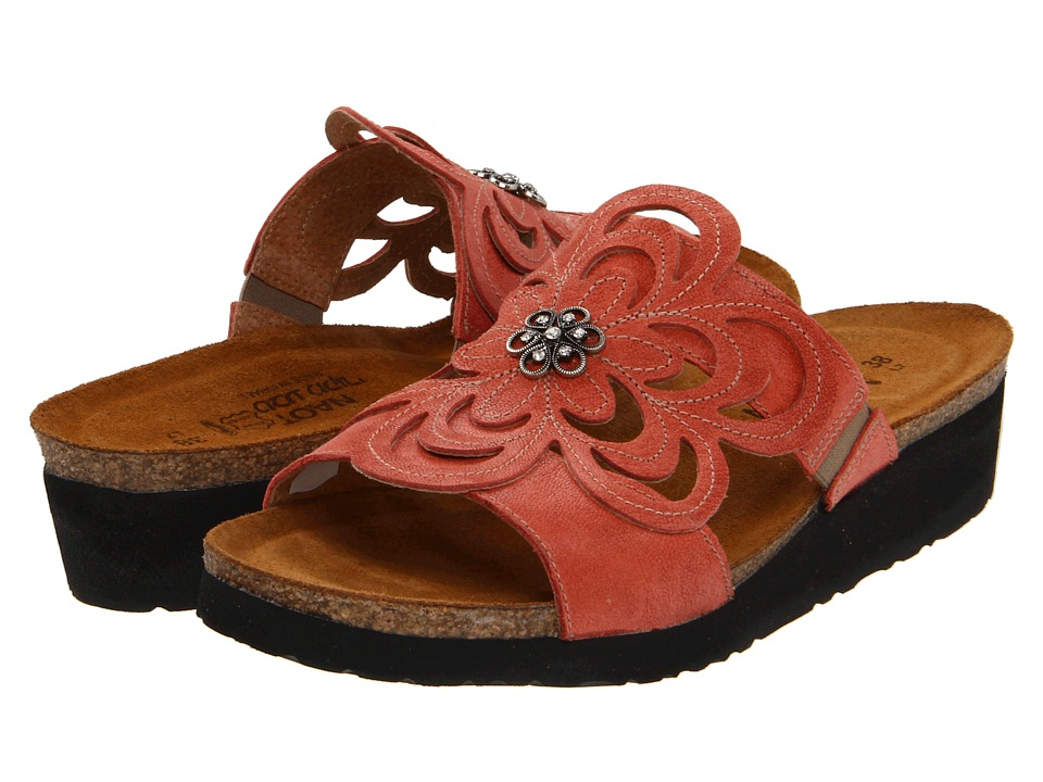 Naot Footwear - Sandy (Coral Reef Leather) Women's Sandals