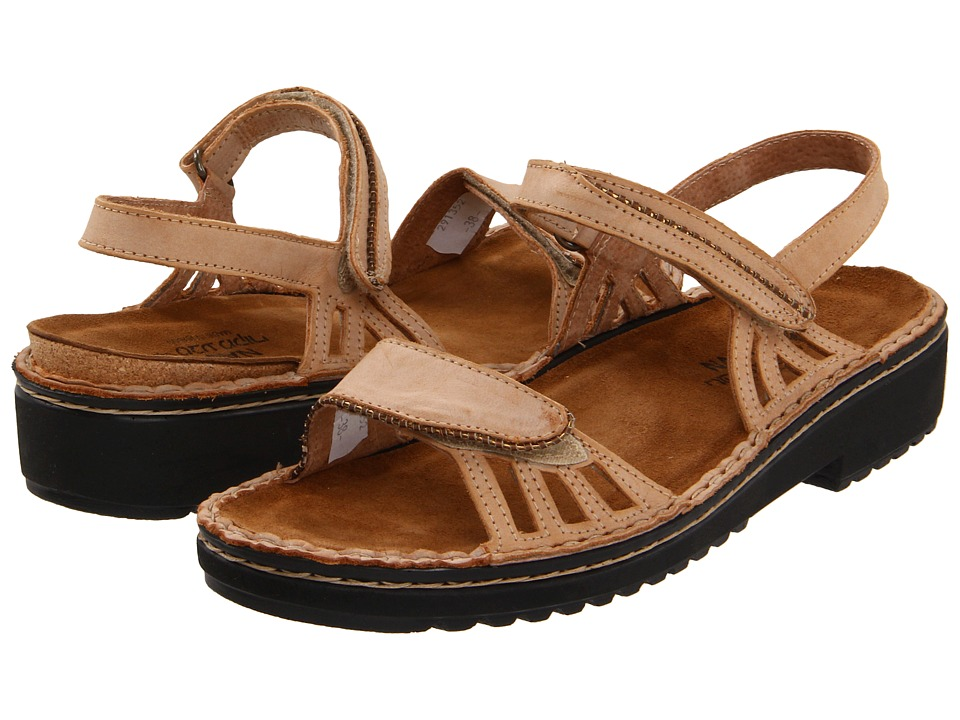 Naot Footwear - Anika (Biscuit Leather) Women's Sandals