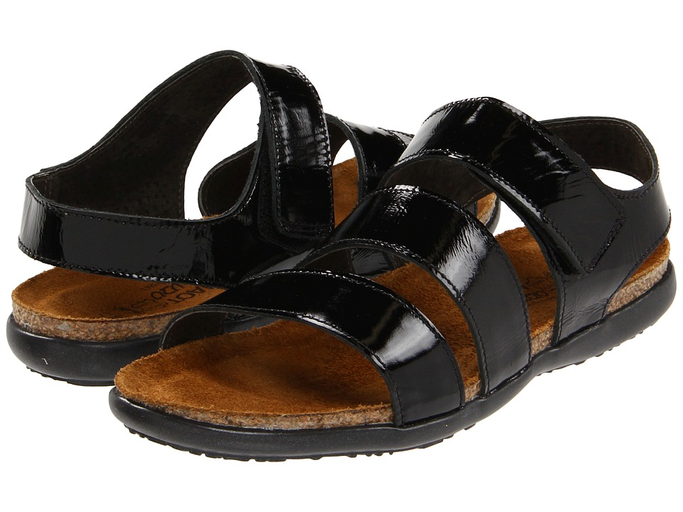 Naot Footwear - Laura (Black Patent Leather) Women's Sandals