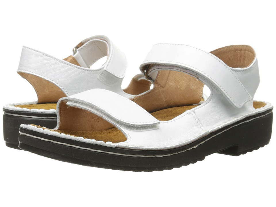Naot Footwear - Karenna (White Leather) Women's Sandals