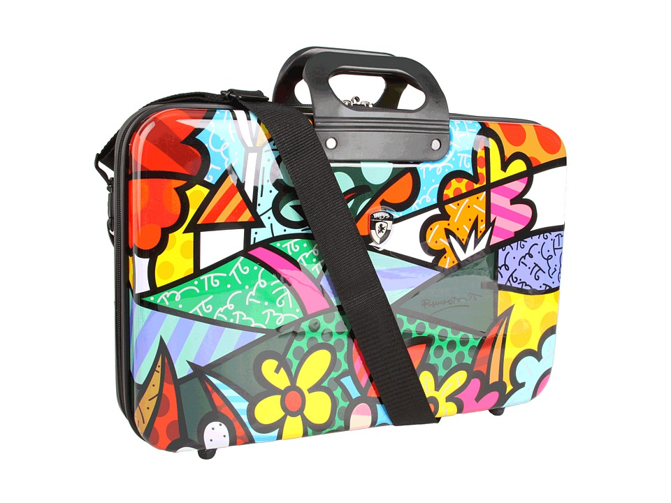 Heys Britto Collection - Landscape Flowers 12 eSleeve Computer Bags