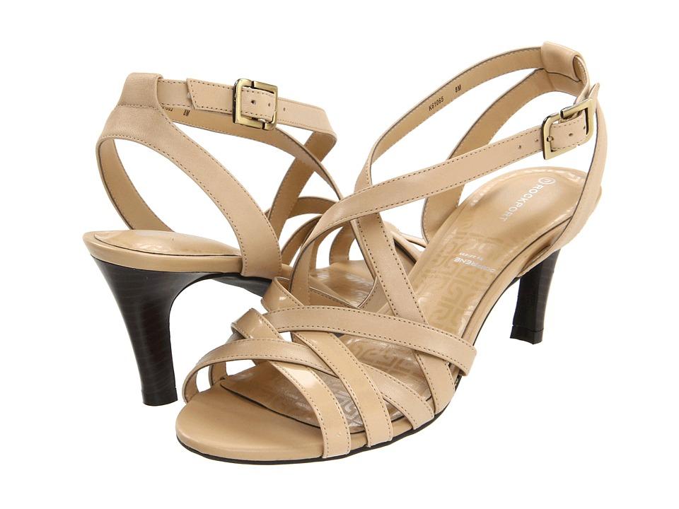 Rockport - Inelle Strappy Anklestrap (Dark Beige) High Heels