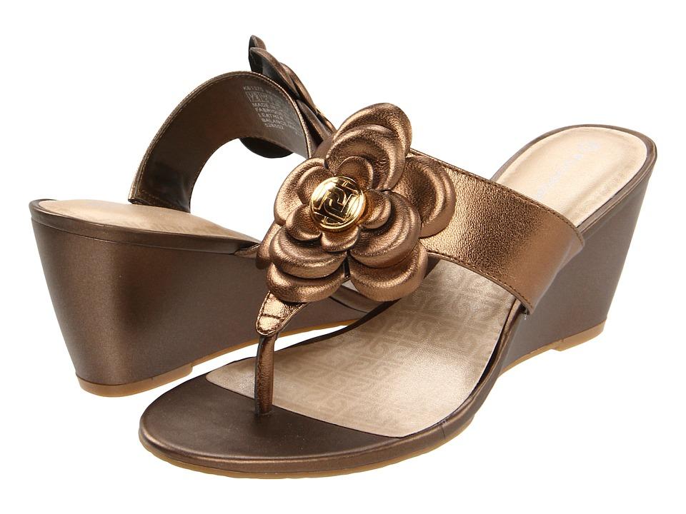 Rockport - Nicoleen Jewel Flower (Bronze) High Heels