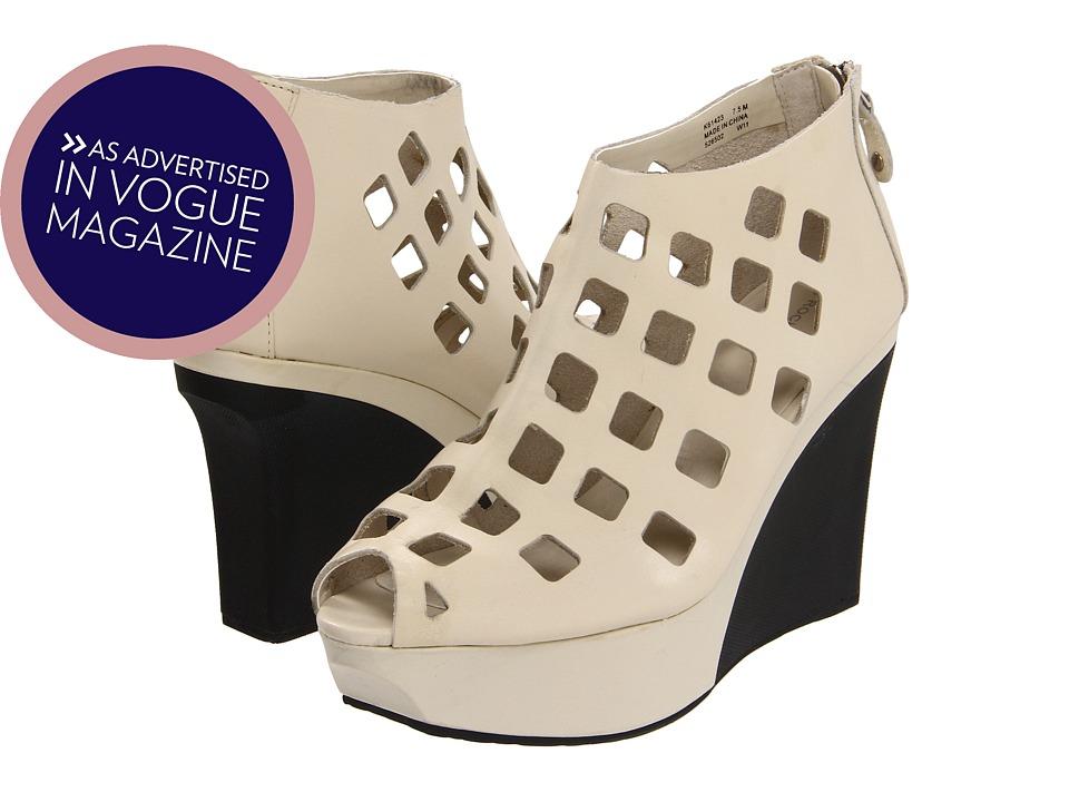 Rockport - Zelia SQ Perf Peep (Cream) High Heels