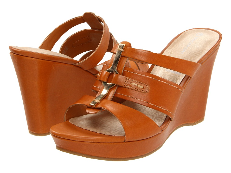 Rockport - Locklyn 3 Band Slide (Sudan Brown) High Heels